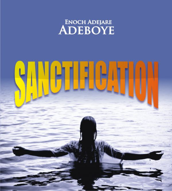 sanctification cover.