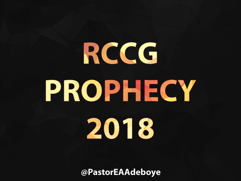 rccg-prophecies-2018